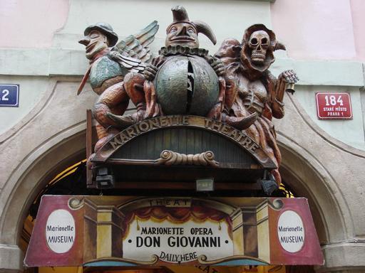 Musée de marionnettes à Prague