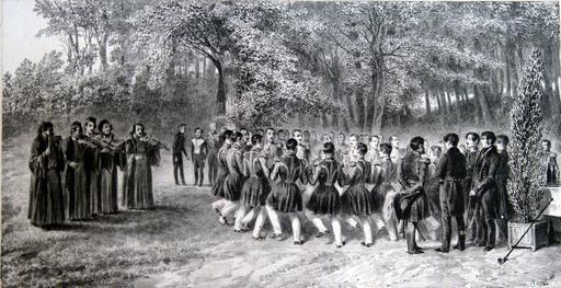 Musiciens du 2ème régiment, 1837
