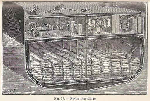 Navire frigorifique