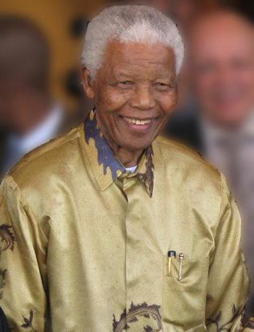 Nelson Mandela en 2008