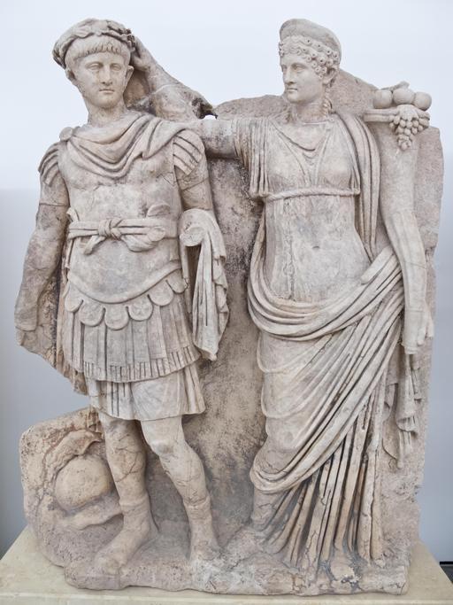 Néron et sa mère Agrippine