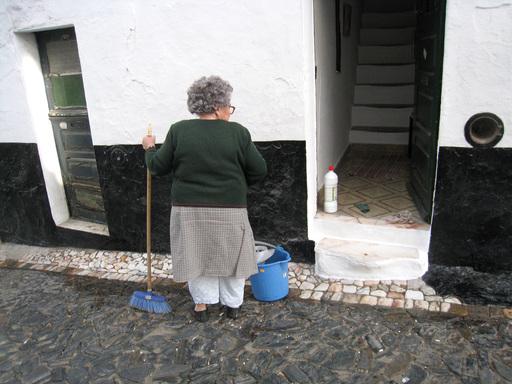 Nettoyage du palier d'entrée