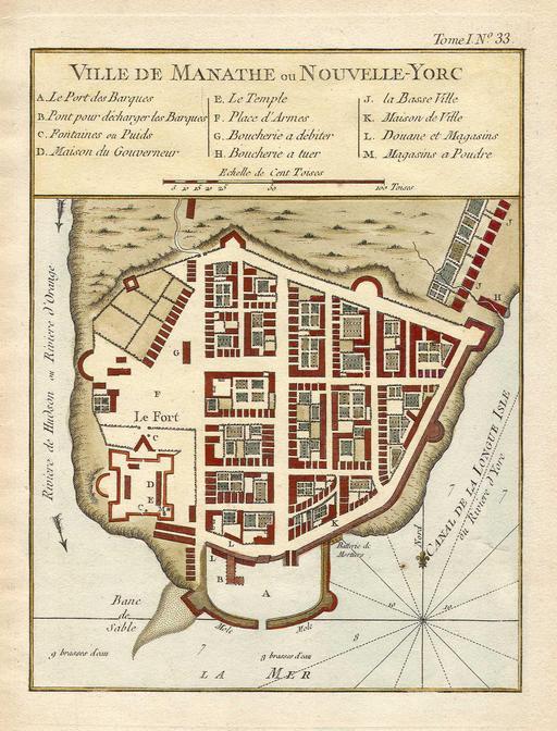 New York en 1763