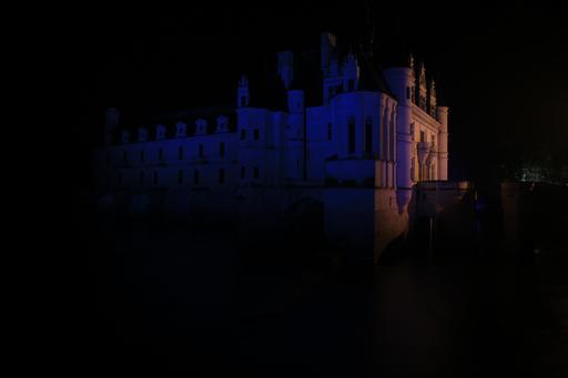Nocturne à Chenonceau