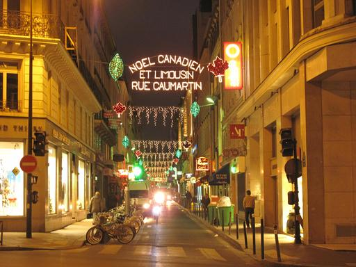 Noël de la Rue de Caumartin