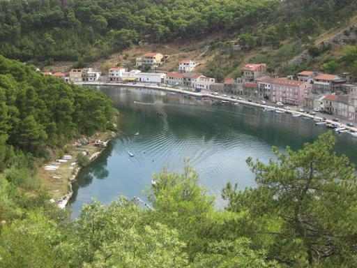 Novigrad en Croatie