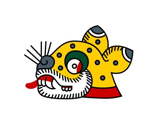 Ocelotl, le jaguar du calendrier aztèque
