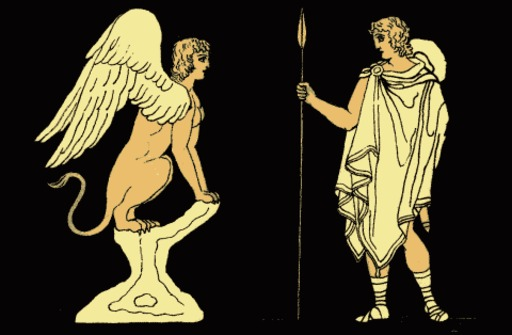 Oedipe et le sphynx