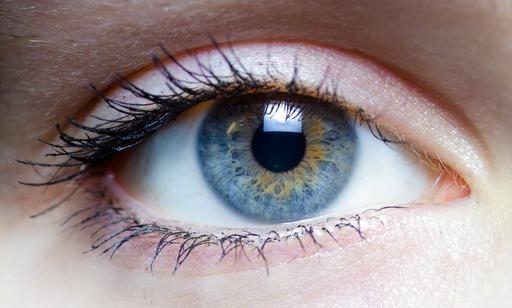 Oeil gauche