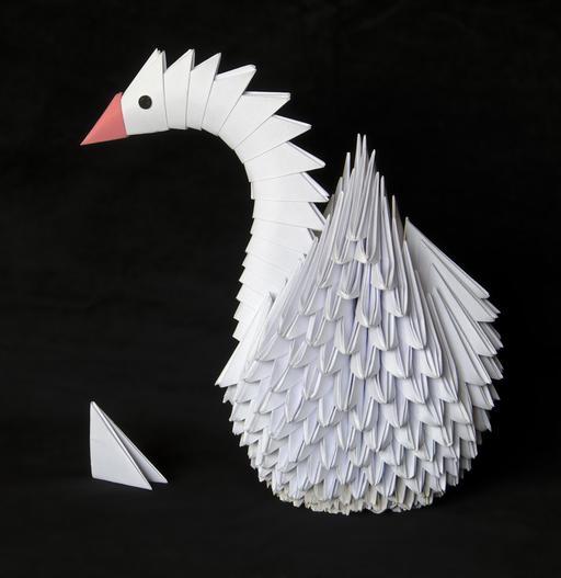Oie en origami