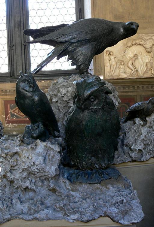 Oiseaux en bronze