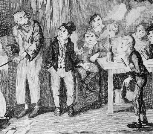 Oliver Twist et sa bande de voleurs