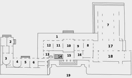 Palais du rez-de-chaussée de l'Élysée