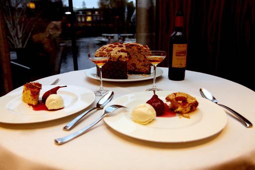 Panettone au dessert