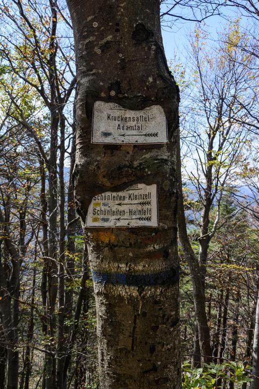 Panneaux pour randonneurs