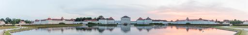Panorama sur le palais de Nymphenburg