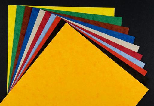 Papier cartonné de couleur