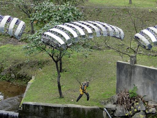 Parachutisme à Taïwan