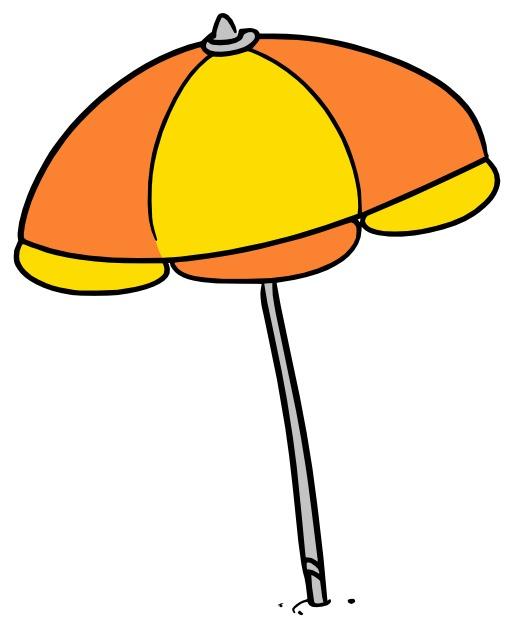 Parasol ouvert