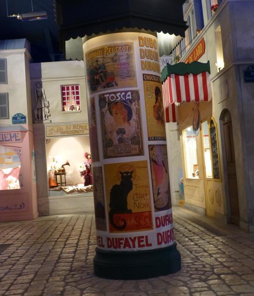 Paris nocturne au musée des automates