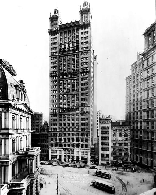 Park Row Building à NY en 1912