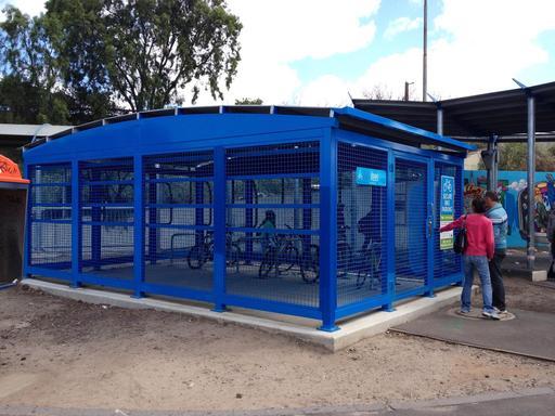 Parking à vélos fermé en Australie