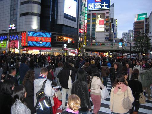 Passage piéton à Tokyo