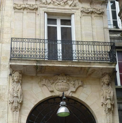 Passage Sarget à Bordeaux