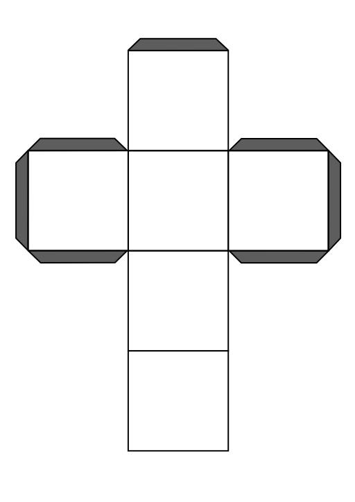 Patron de cube