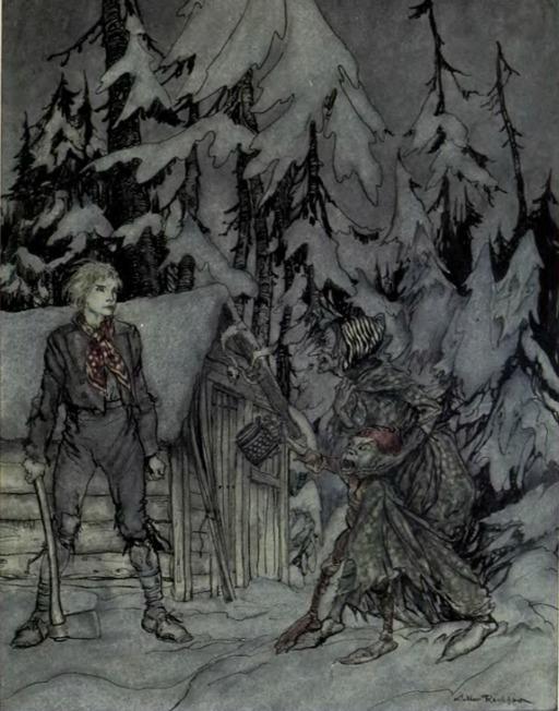 Peer Gynt et la sorcière des trolls