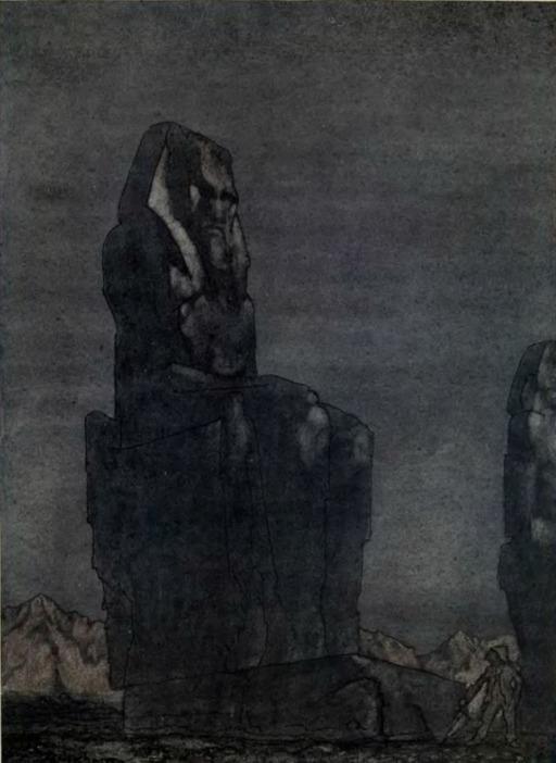 Peer Gynt et la statue de Memnon