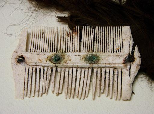 Peigne gallo-romain en os