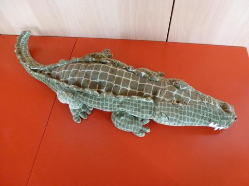 Peluche de crocodile