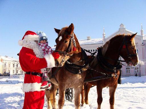 Père Noël en Pologne