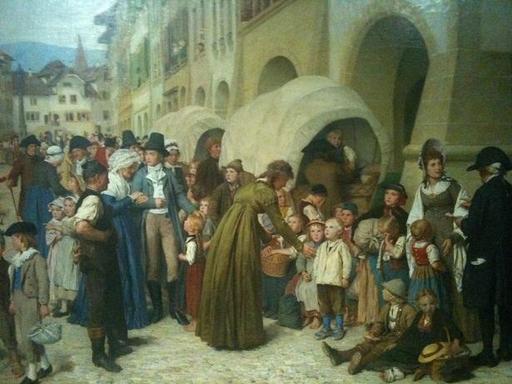 Pestalozzi et les orphelins