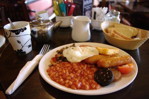 Petit déjeuner traditionnel irlandais