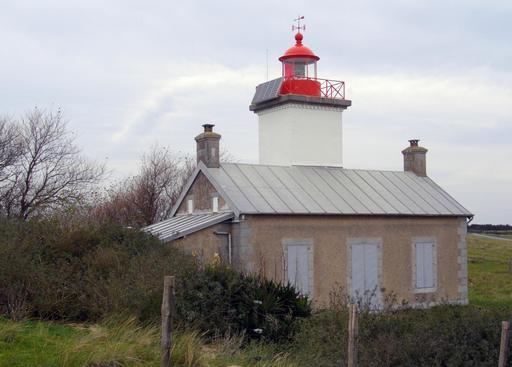 Ancien phare de la Pointe d'Agon dans la Manche