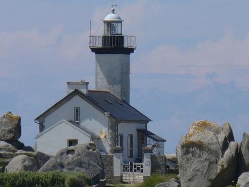 Maison-phare de Pontusval en Finistère
