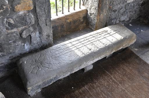 Pierre gravée médiévale