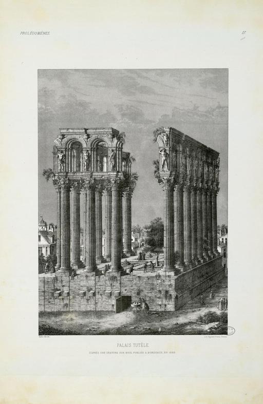 Piliers de Tutelle à Bordeaux en 1565
