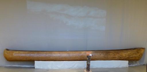 Pirogue antique landaise