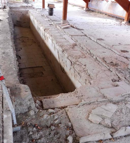 Piscine et mosaïque gallo-romaine de Loupiac-33