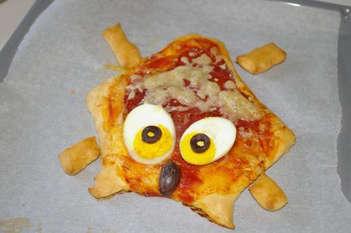 Pizza hérisson