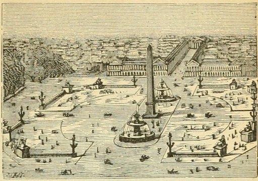 Place de la Concorde en 1877