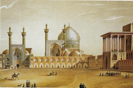 Place de Naqsh-e Jahan en 1867
