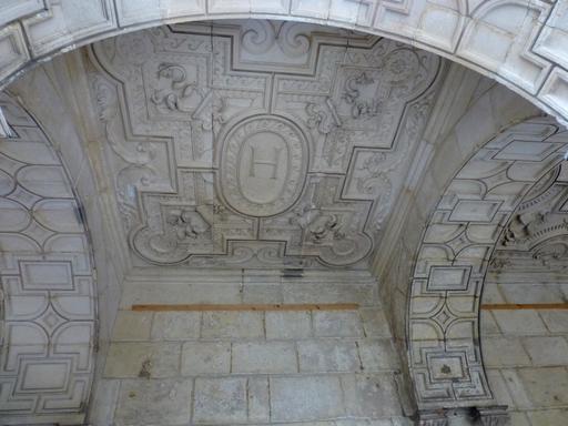 Plafond de la Maison Henry II à La Rochelle