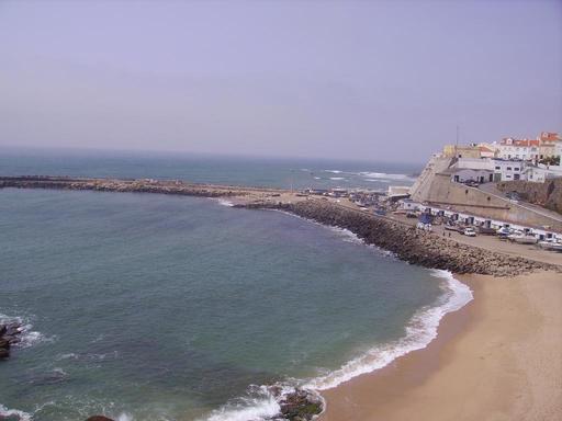 Plage d'Ericeira au Portugal