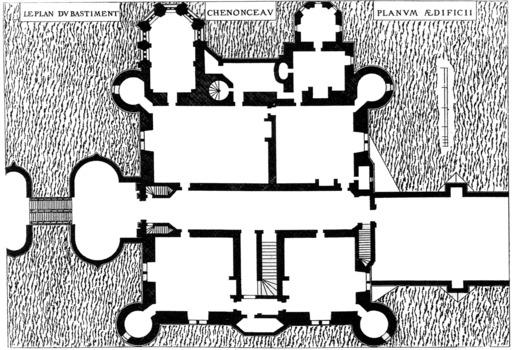 Plan de Chenonceau