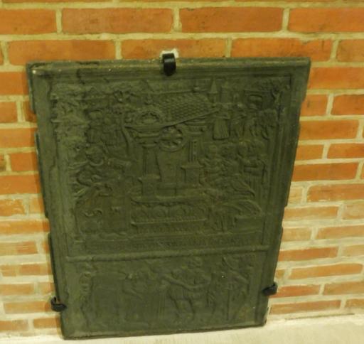 Plaque de cheminée au musée des beaux-arts de Dijon