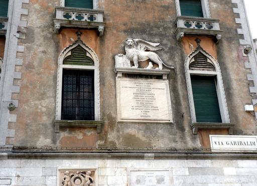 Plaque de Jean Cabot à Venise